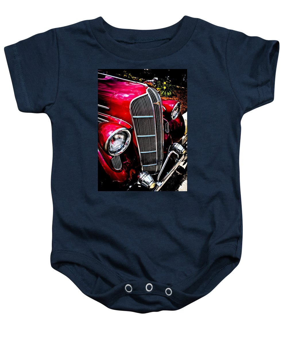 Classic Dodge Brothers Automobiles Photographs Baby Onesie featuring the photograph Classic Dodge Brothers Sedan by Joann Copeland-Paul