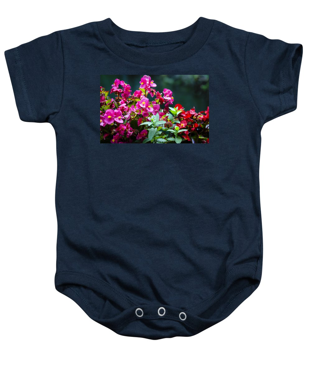 Color Explosion Baby Onesie featuring the photograph Color Explosion by Sotiris Filippou