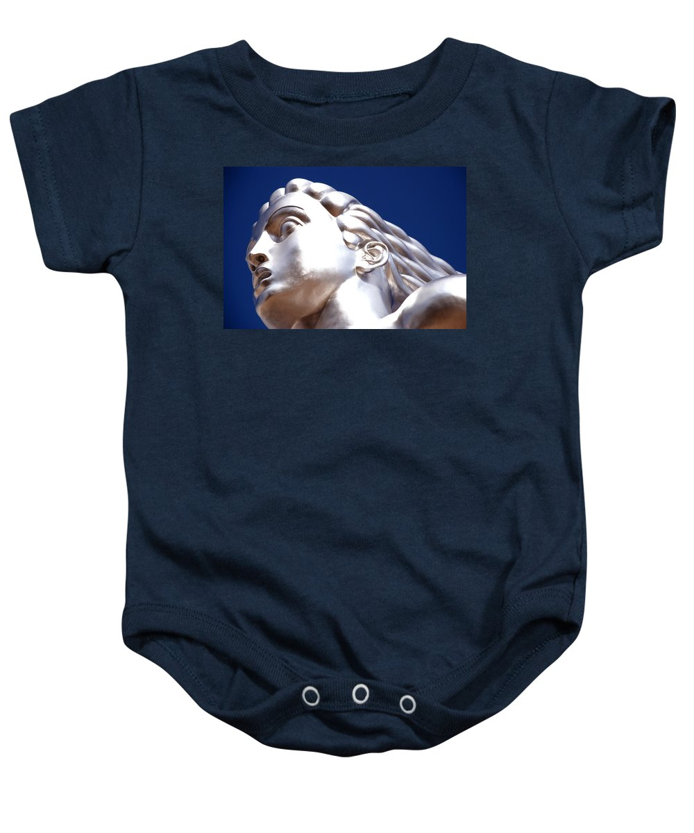 Strong Baby Onesie featuring the photograph Contralto 18 by Charlie Brock