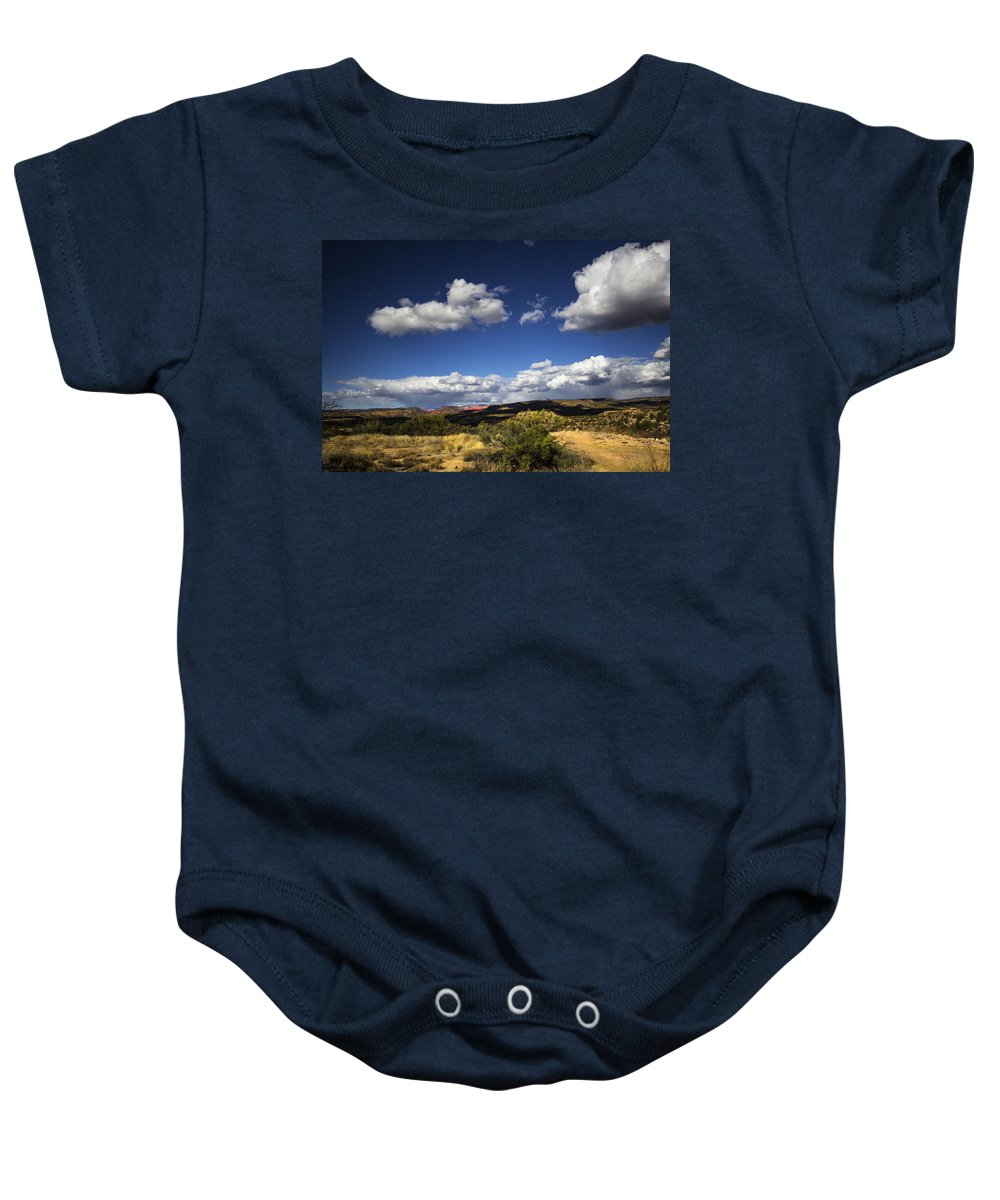 Landscape Baby Onesie featuring the photograph Desert by Otto Searan