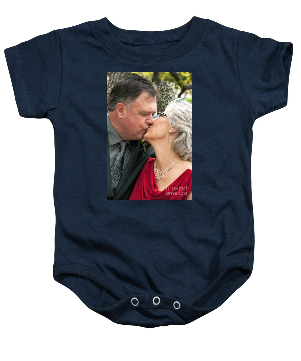 New Orleans Baby Onesie featuring the photograph Destination Wedding-m And D-2 by Kathleen K Parker
