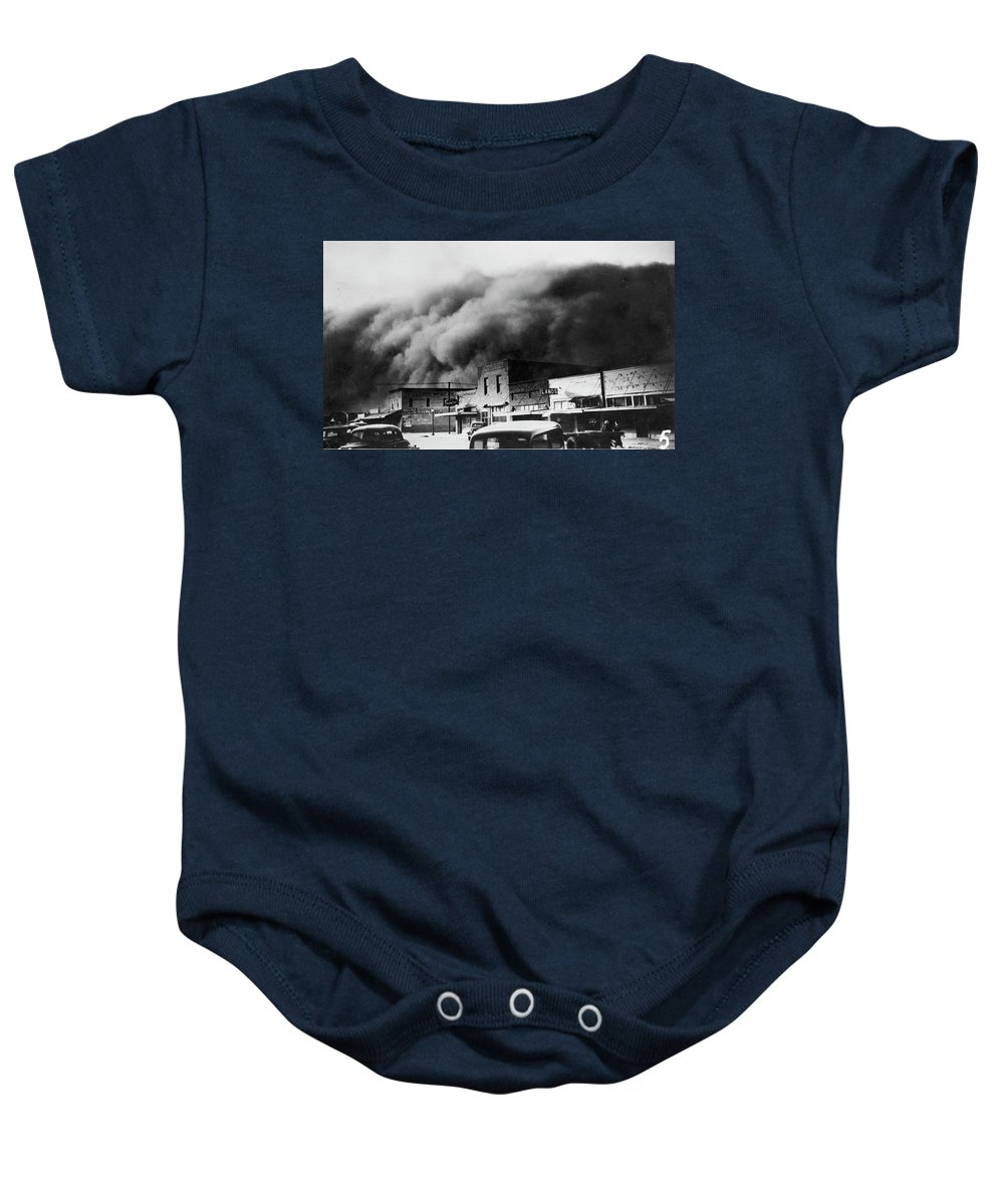1934 Baby Onesie featuring the photograph Drought, 1934 by Granger