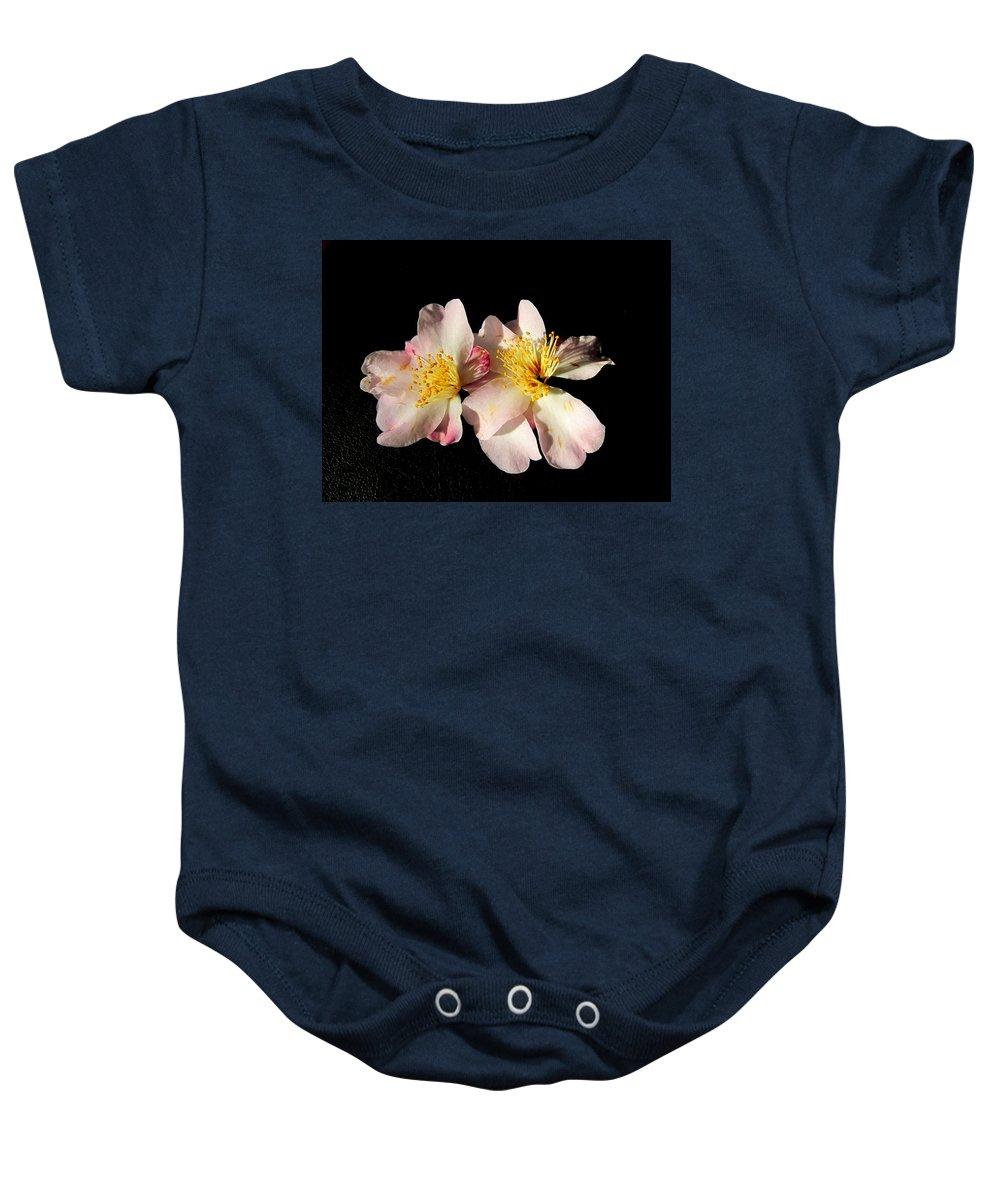 Flower Baby Onesie featuring the photograph Flower Azalea. by Joyce Woodhouse