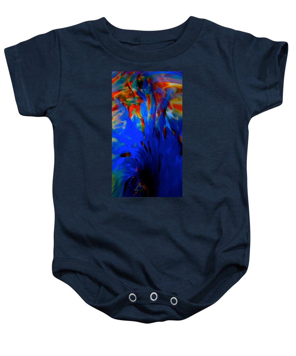 Water Baby Onesie featuring the photograph From The Deep Blue by Tim G Ross