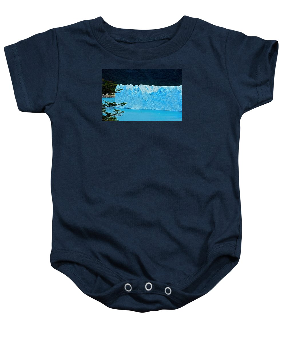 South America Baby Onesie featuring the photograph Glaciar Perito Moreno - Patagonia by Juergen Weiss