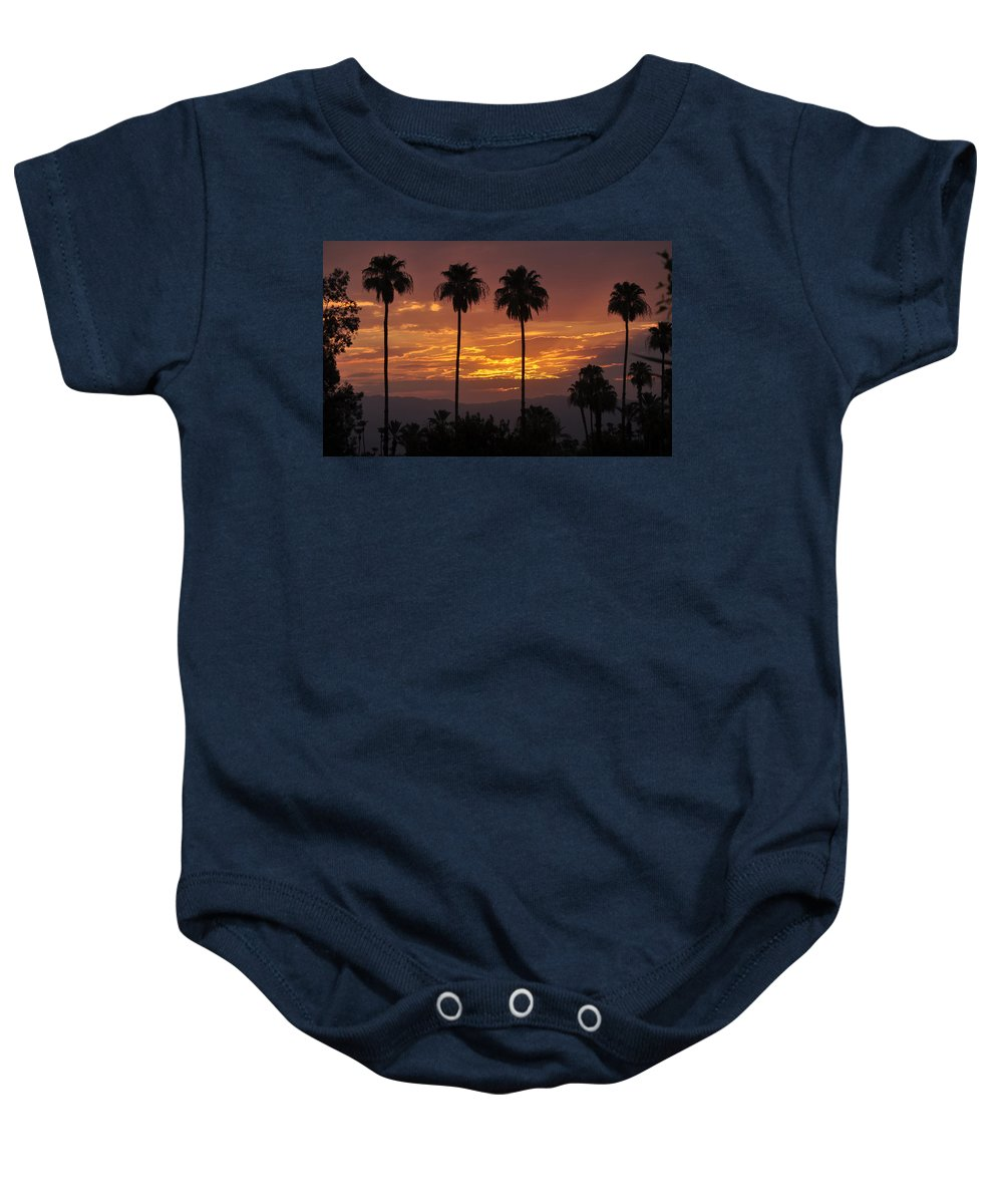 Early Morning Baby Onesie featuring the photograph Glory Of Early Morning by Jay Milo