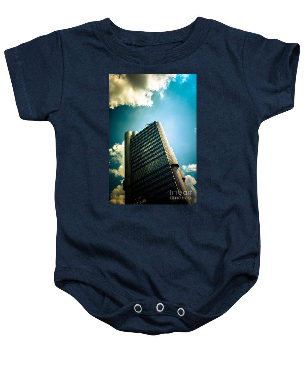 Architecture Baby Onesie featuring the photograph Gott Mit Dir Du Land Der Bayern by Hannes Cmarits