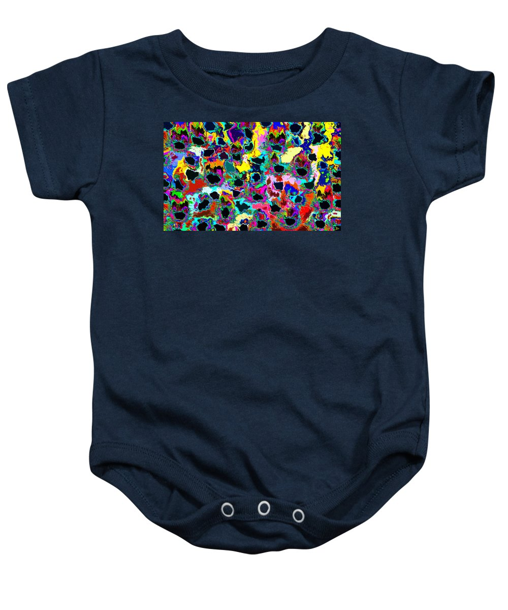 Healing Baby Onesie featuring the painting Healing The Heart by David Lee Thompson