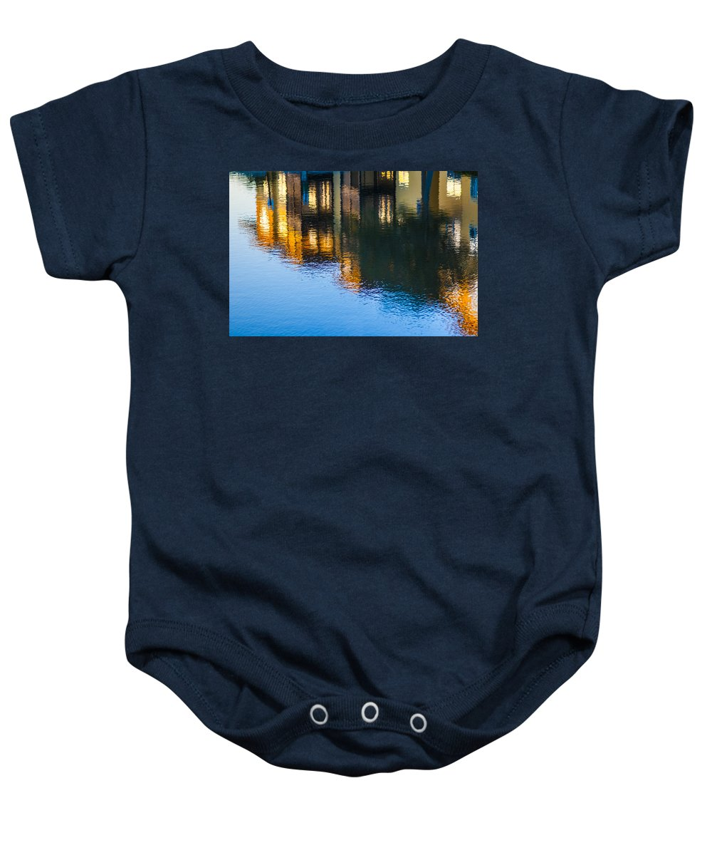 Waterfront Baby Onesie featuring the photograph Living On The Water - 3 by Carolyn Marshall