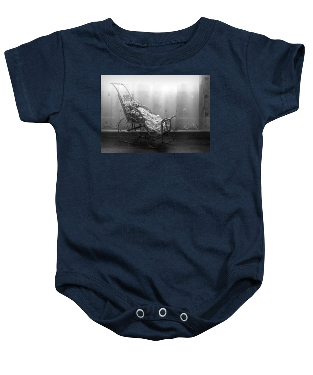 Bess Streeter Aldrich Baby Onesie featuring the photograph Lullaby by Nikolyn McDonald