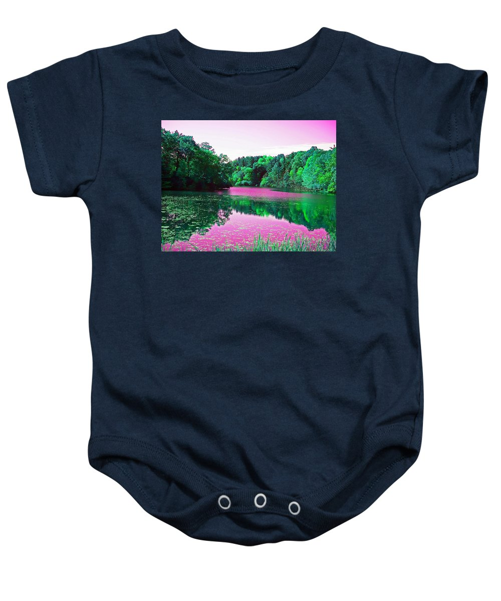 Dreamy Baby Onesie featuring the photograph Magical Dream by Aimee L Maher ALM GALLERY