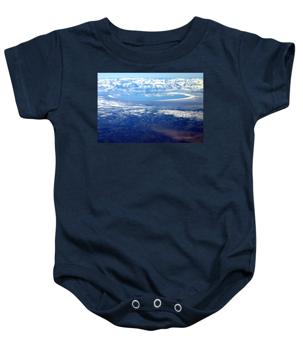 Mountains Baby Onesie featuring the photograph Majestic Reflection by Mac Kenney