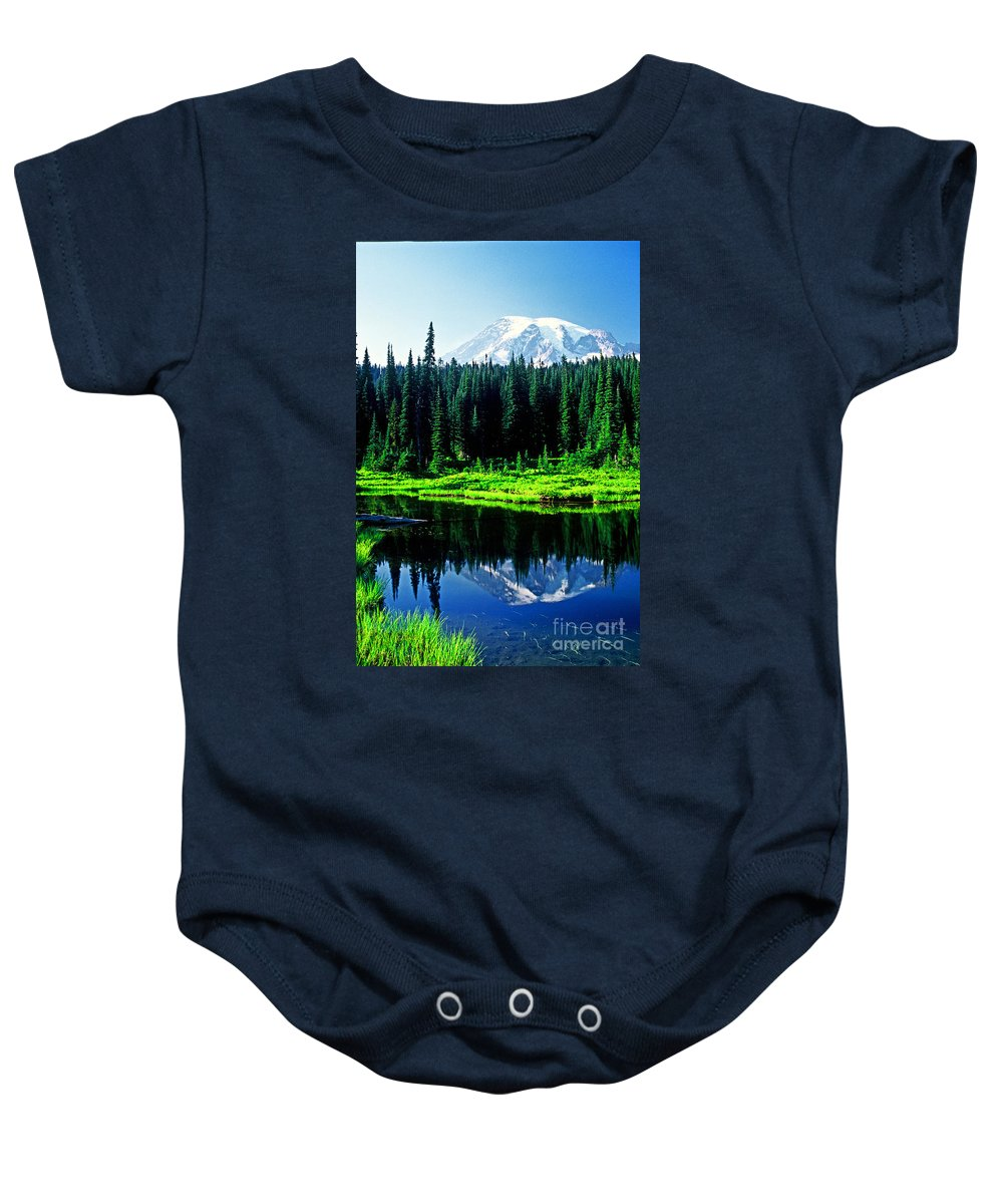Landscape Baby Onesie featuring the photograph Majestic View 2 by Earl Johnson