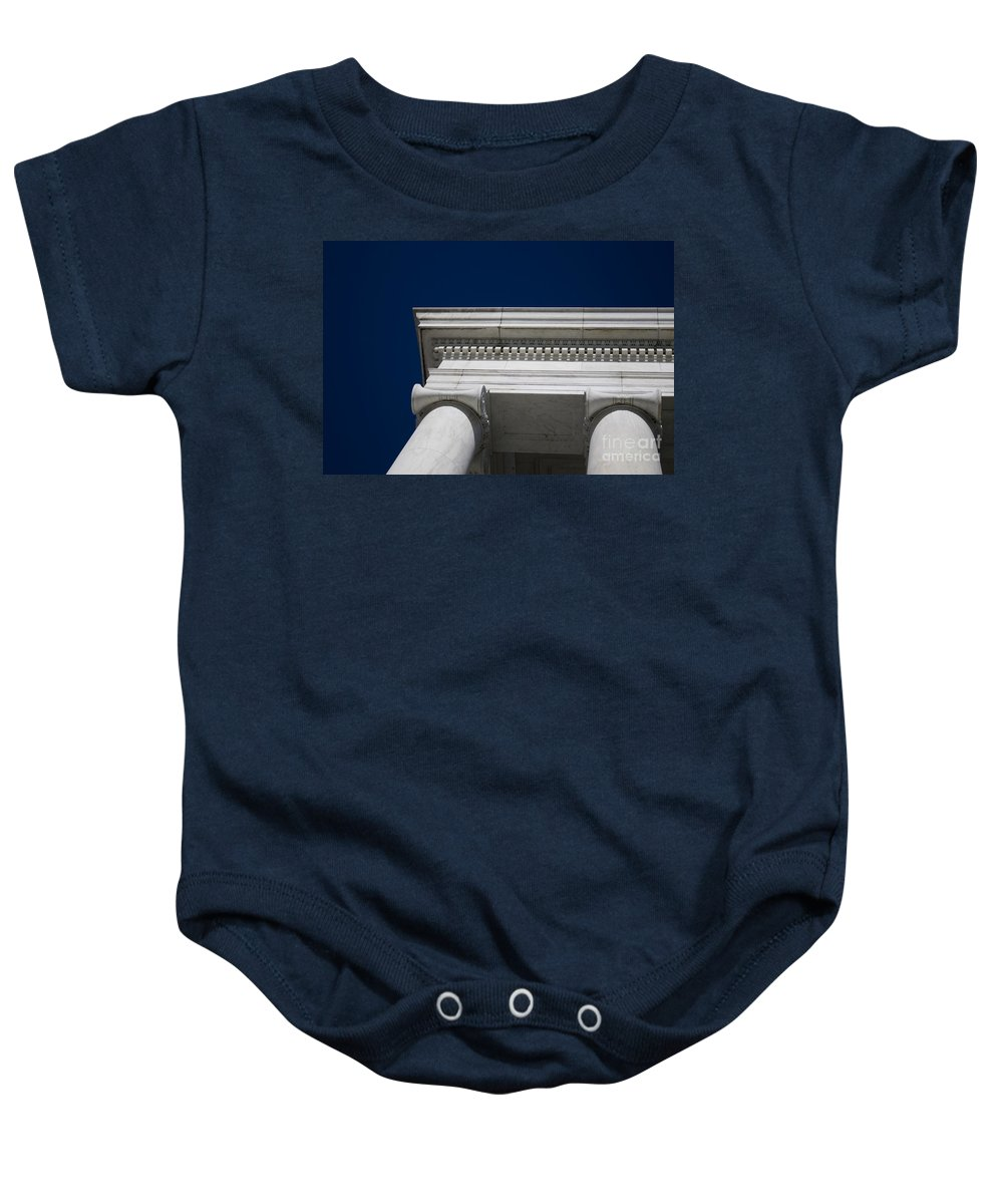 Marble Baby Onesie featuring the photograph Marble Architecture by B Christopher