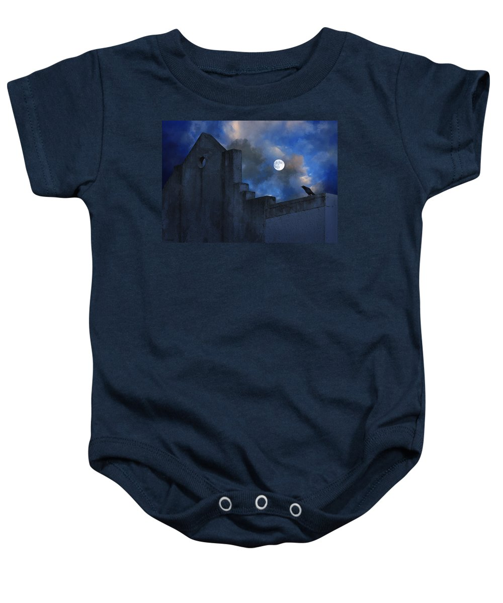 Ron Jones Baby Onesie featuring the photograph Mexican Nights by Ron Jones