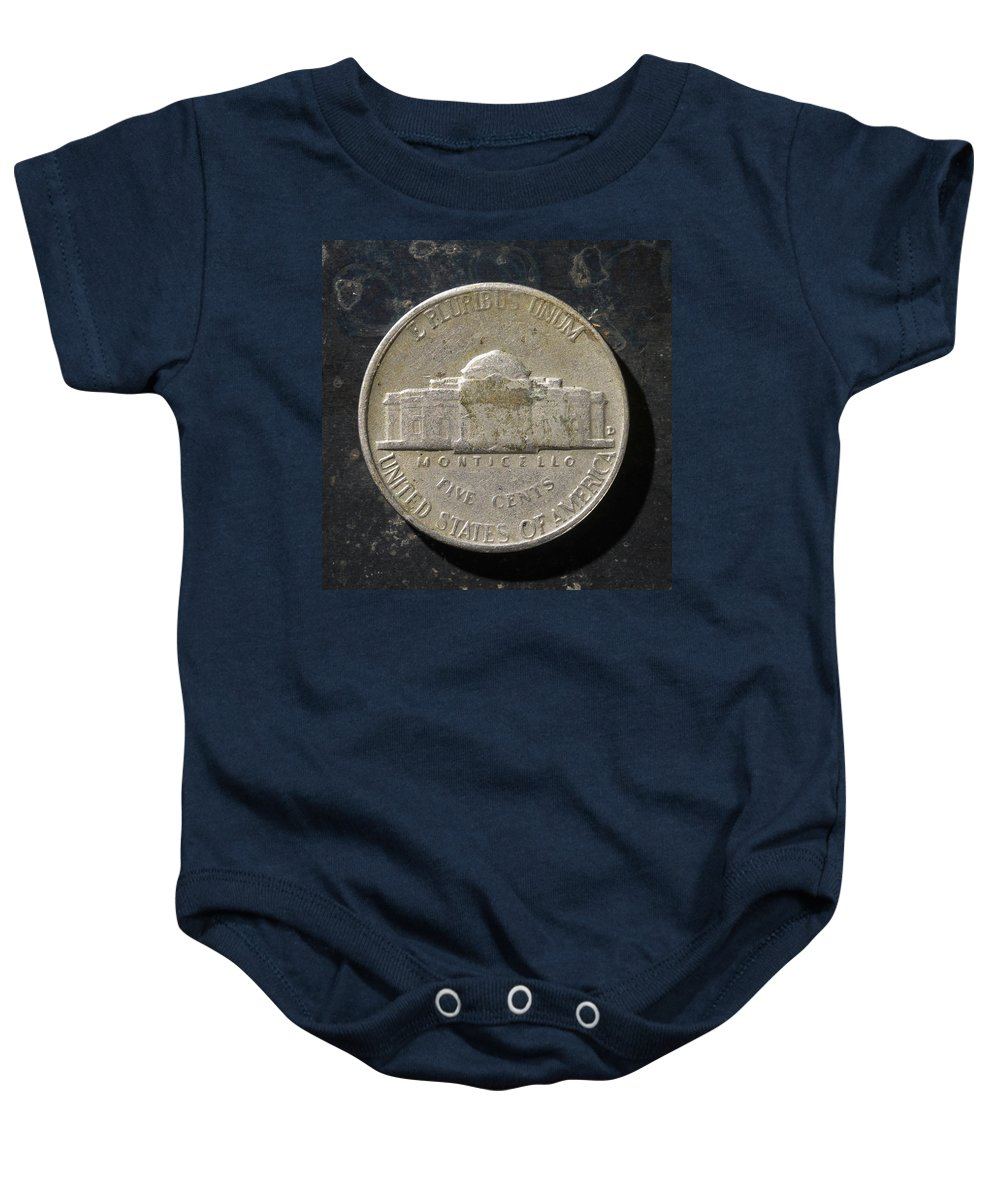 Americana Baby Onesie featuring the photograph N 1957 A T by Robert Mollett