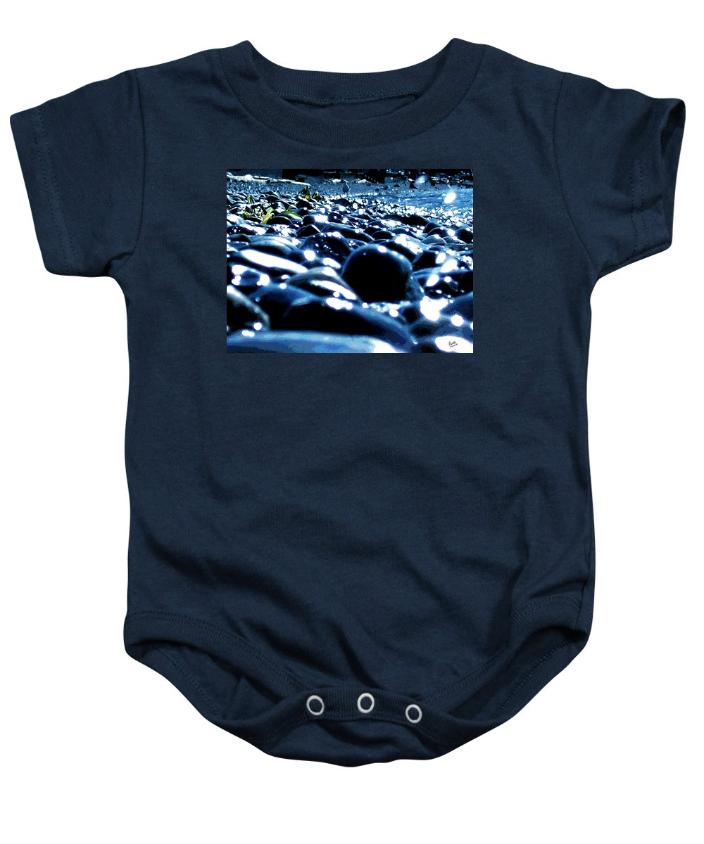 Seagulls Baby Onesie featuring the photograph Neighborhood 8 - Seagull by Marcello Cicchini