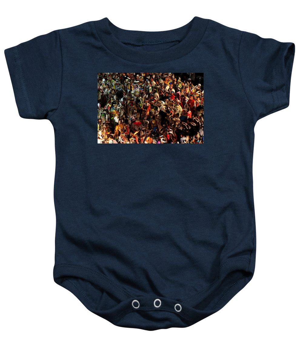 Dance Baby Onesie featuring the photograph Prayer Made Visible by Joe Kozlowski