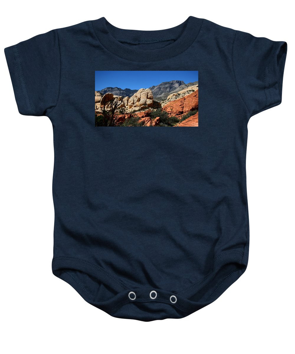 Red Rock Canyon Baby Onesie featuring the photograph Red Rock Canyon 2 by Chris Brannen
