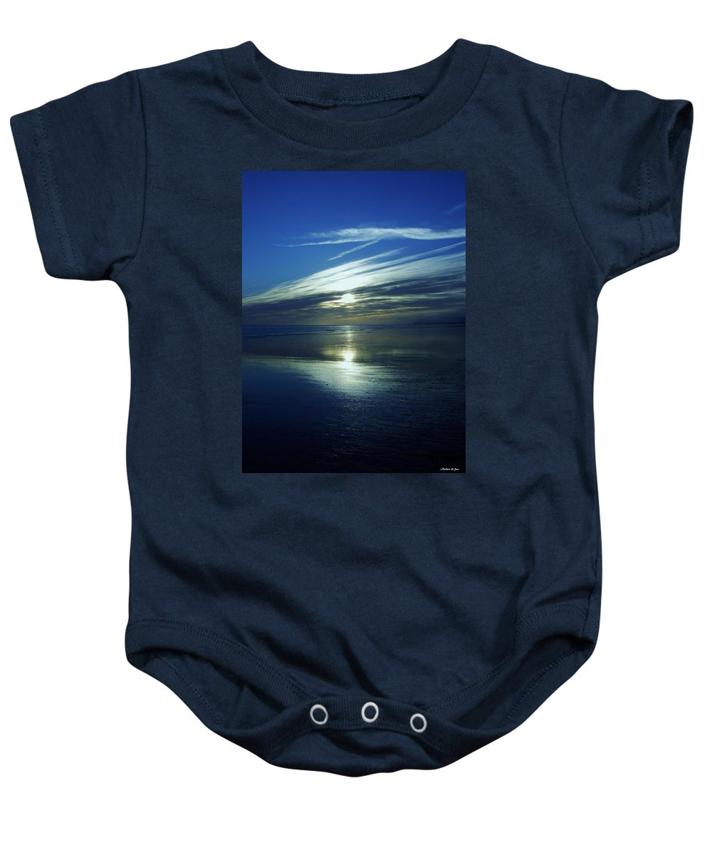 Reflections Baby Onesie featuring the photograph Reflections by Barbara St Jean