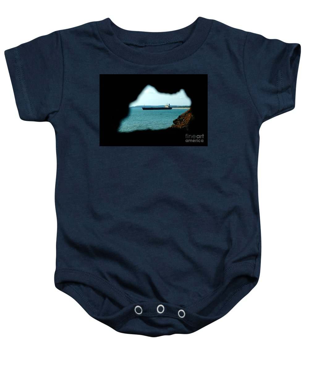 River Princess Baby Onesie featuring the photograph River Princess by Dattaram Gawade