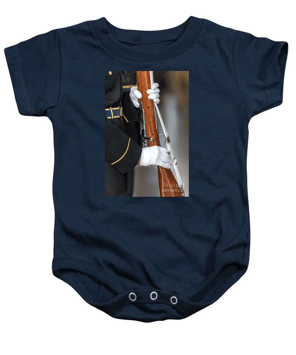 Washington Dc Baby Onesie featuring the photograph Salute by Jerry Fornarotto