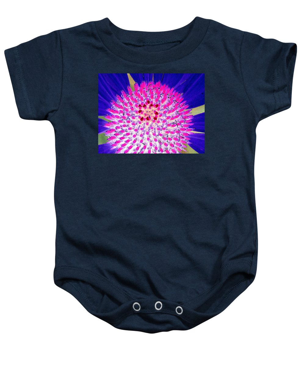 Flower Baby Onesie featuring the photograph Stigma - Photopower 1078 by Pamela Critchlow