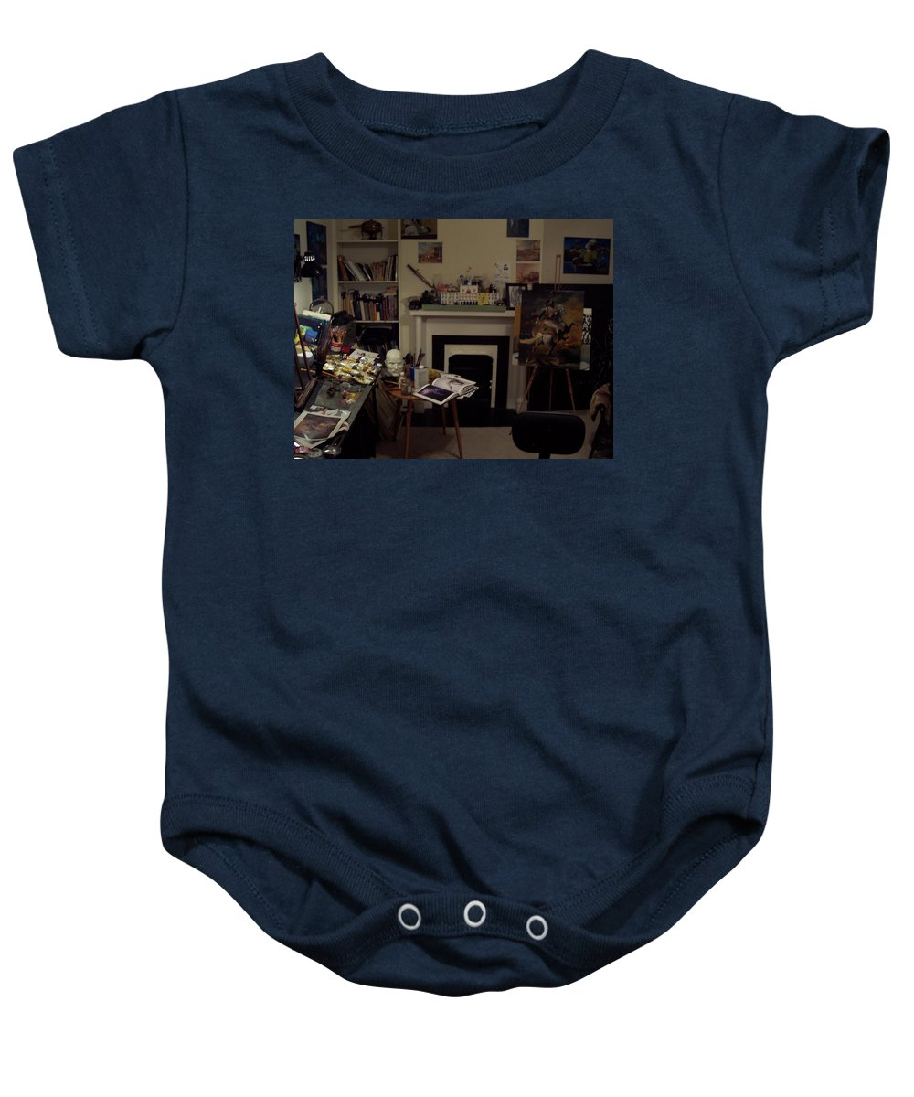 Baby Onesie featuring the photograph Savannah 9studio by Jude Darrien