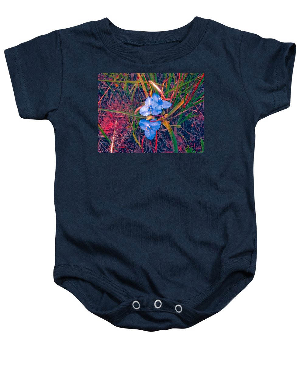 Baby Onesie featuring the photograph The Brilliance Of Spring by Cathy Anderson