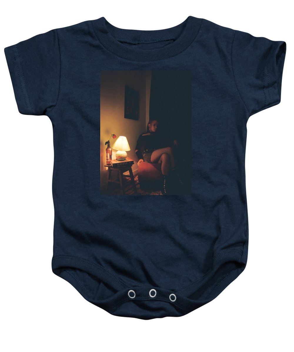 Ulysses Baby Onesie featuring the photograph Ulisea by David Cardona