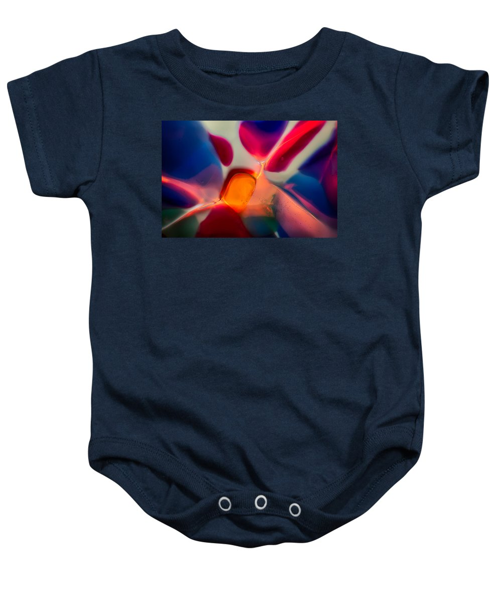 Glass Baby Onesie featuring the photograph Welcome by Omaste Witkowski