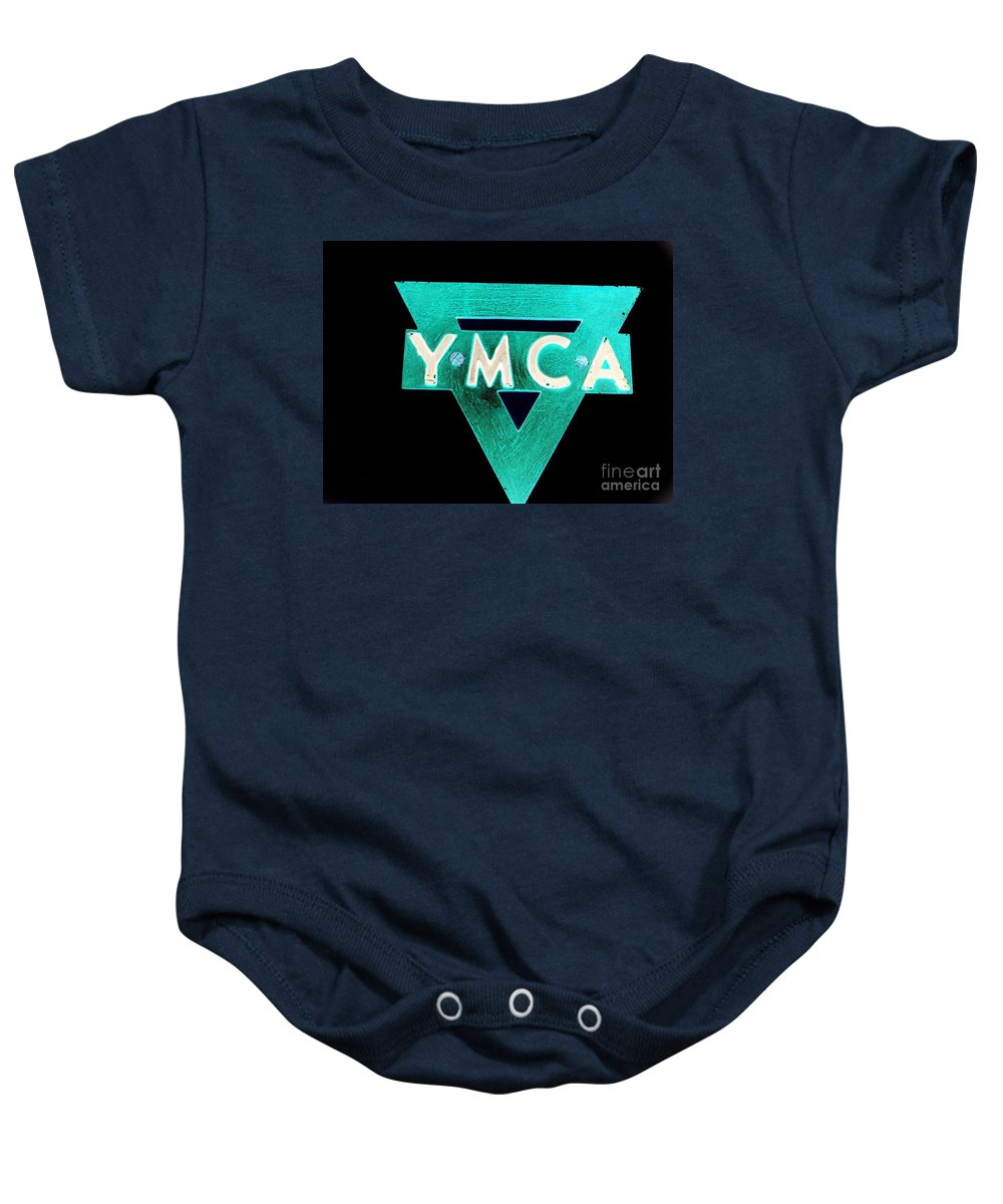 Ymca Baby Onesie featuring the photograph Ymca by Ed Weidman