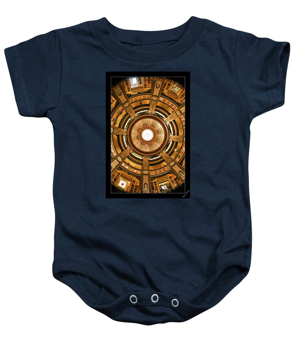 Art Photography Baby Onesie featuring the photograph Colvmbarivm Dome by Blake Richards
