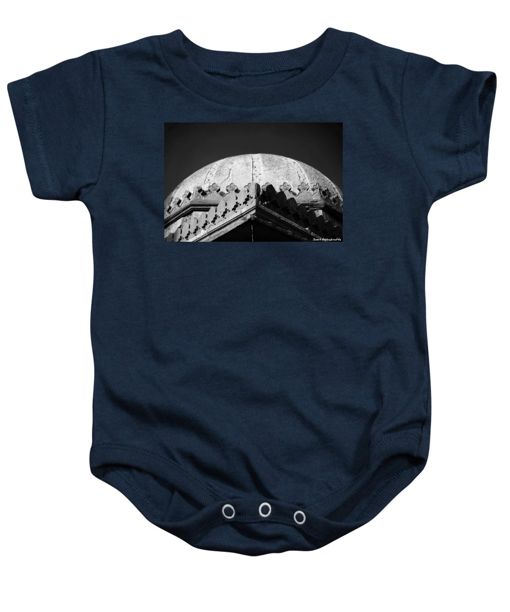 Tomb Baby Onesie featuring the photograph Tomb In India by Sumit Mehndiratta