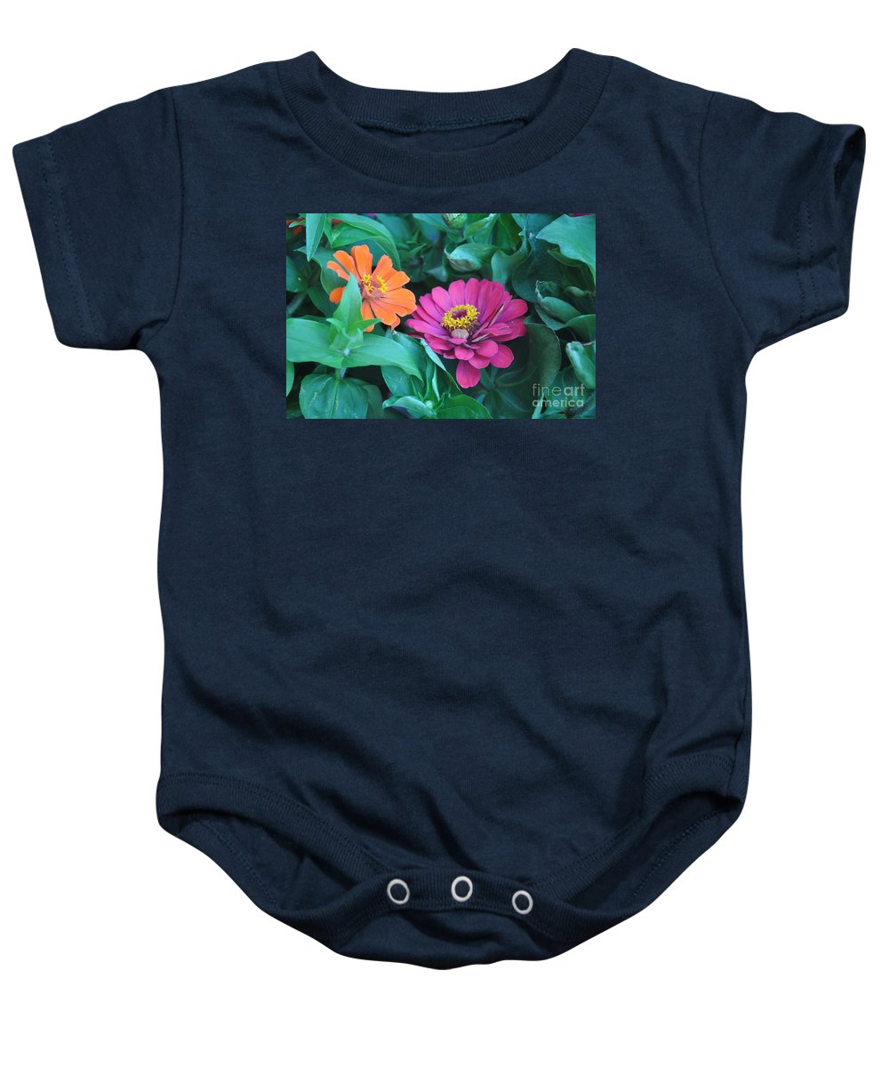 Delia Photographs Baby Onesie featuring the photograph Delias by Catherine Conroy