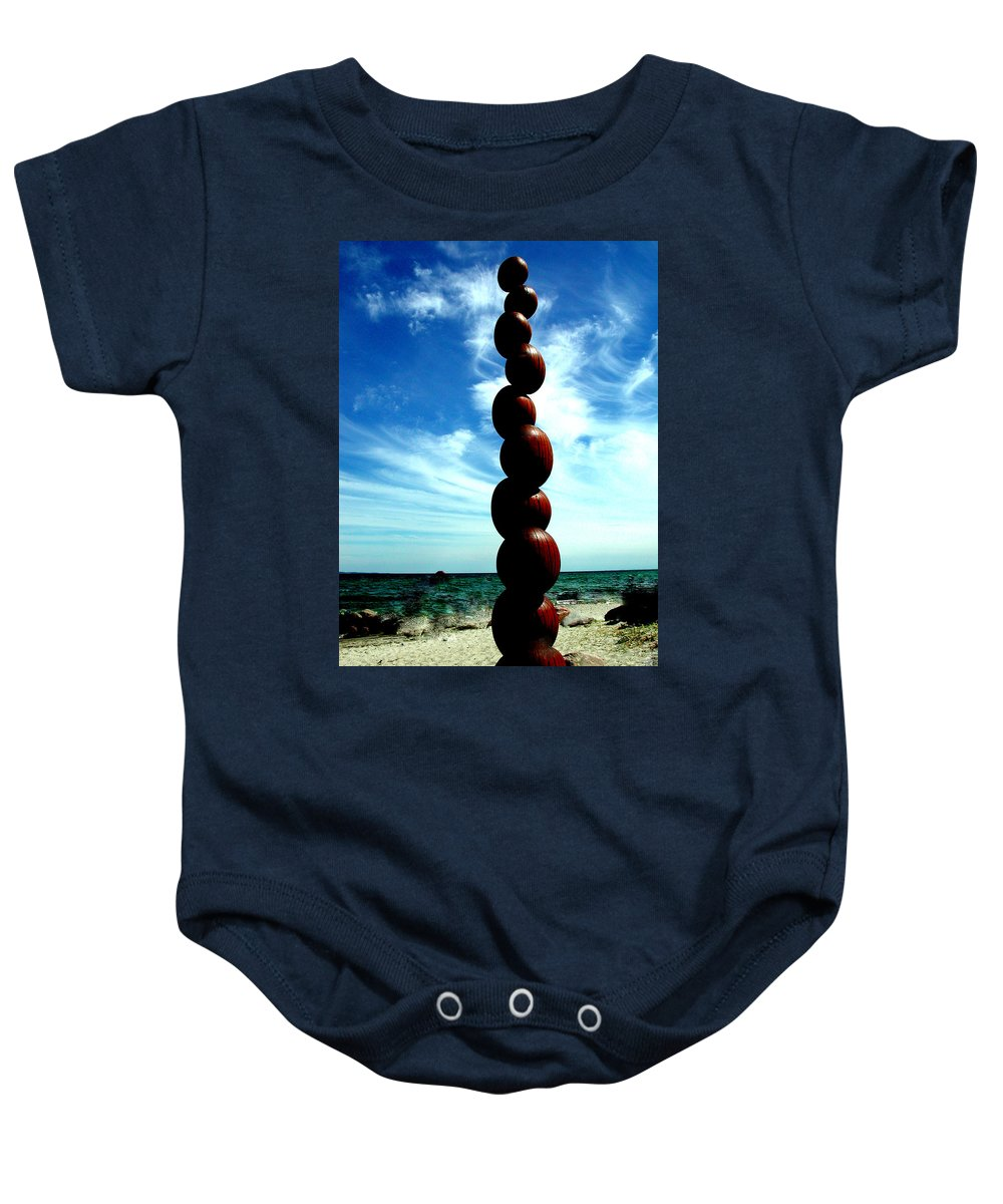 Colette Baby Onesie featuring the photograph Harmony By Water Denmark by Colette V Hera Guggenheim