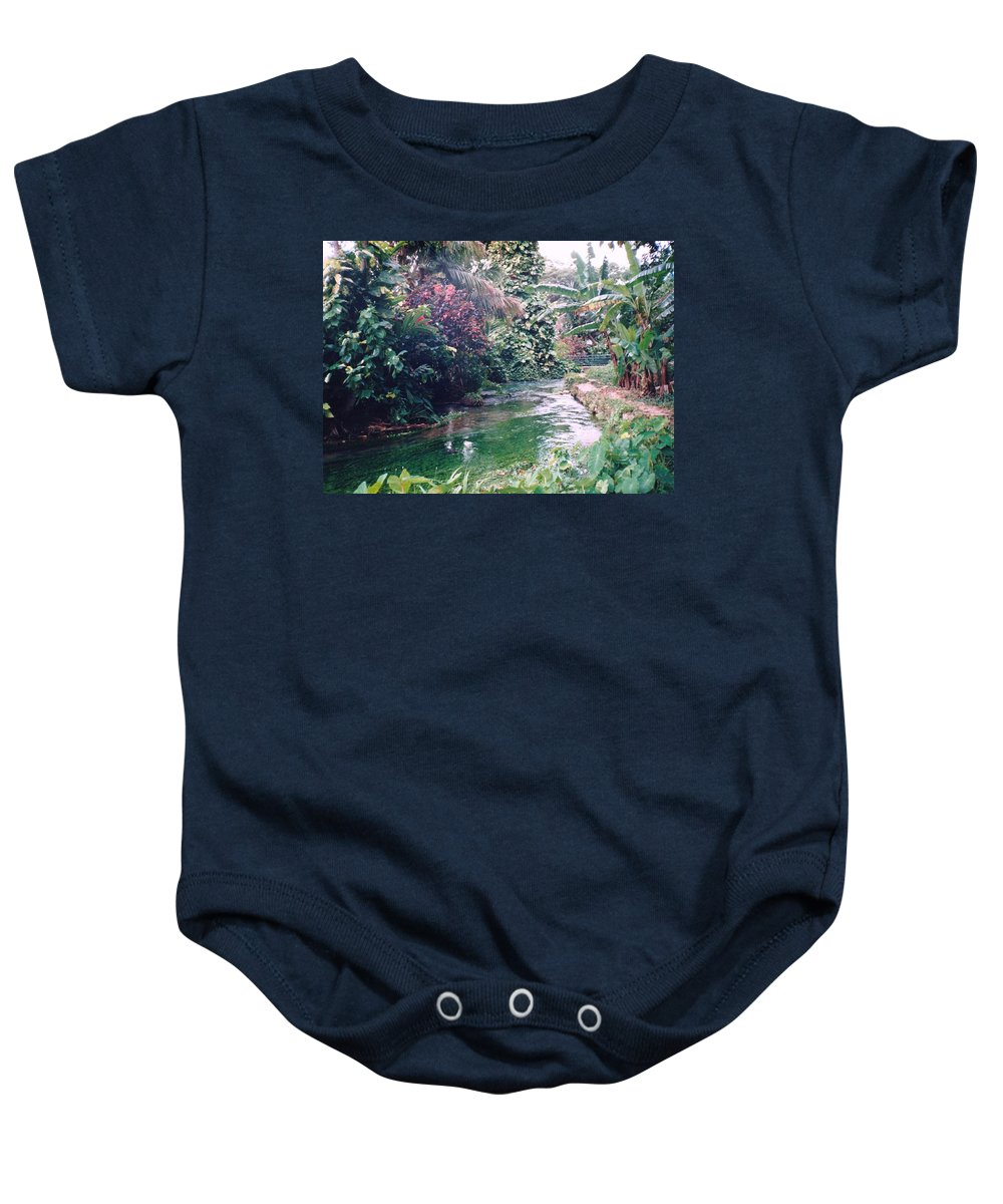 Jamaica Baby Onesie featuring the photograph Jamaica at it's best by Debbie Levene