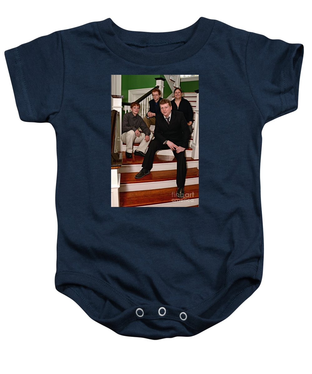 Jimenez Baby Onesie featuring the photograph Janniv067 by Kathleen K Parker