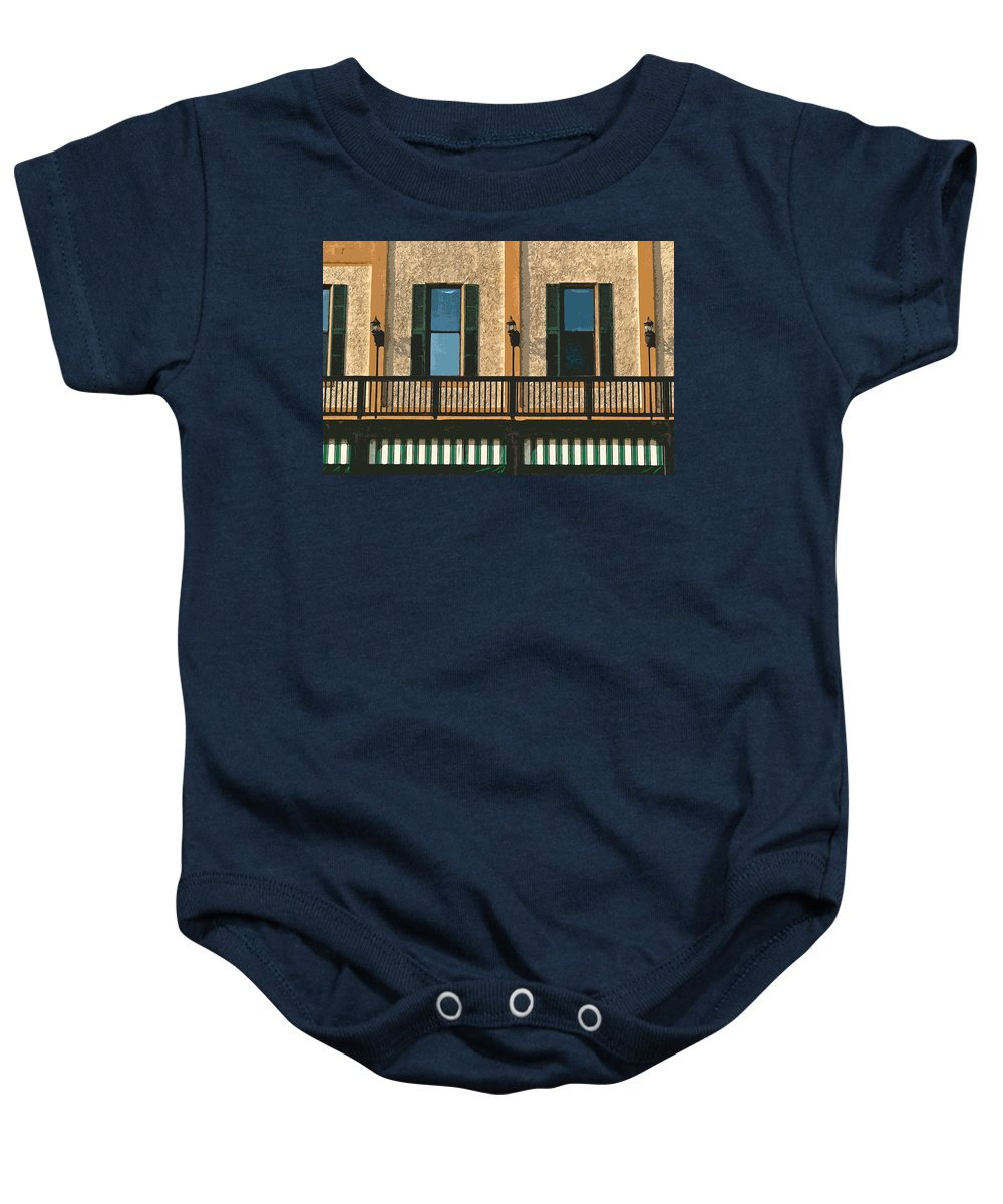 Bar Photographs Baby Onesie featuring the photograph Morning Above The Bar 2 by Bill Owen