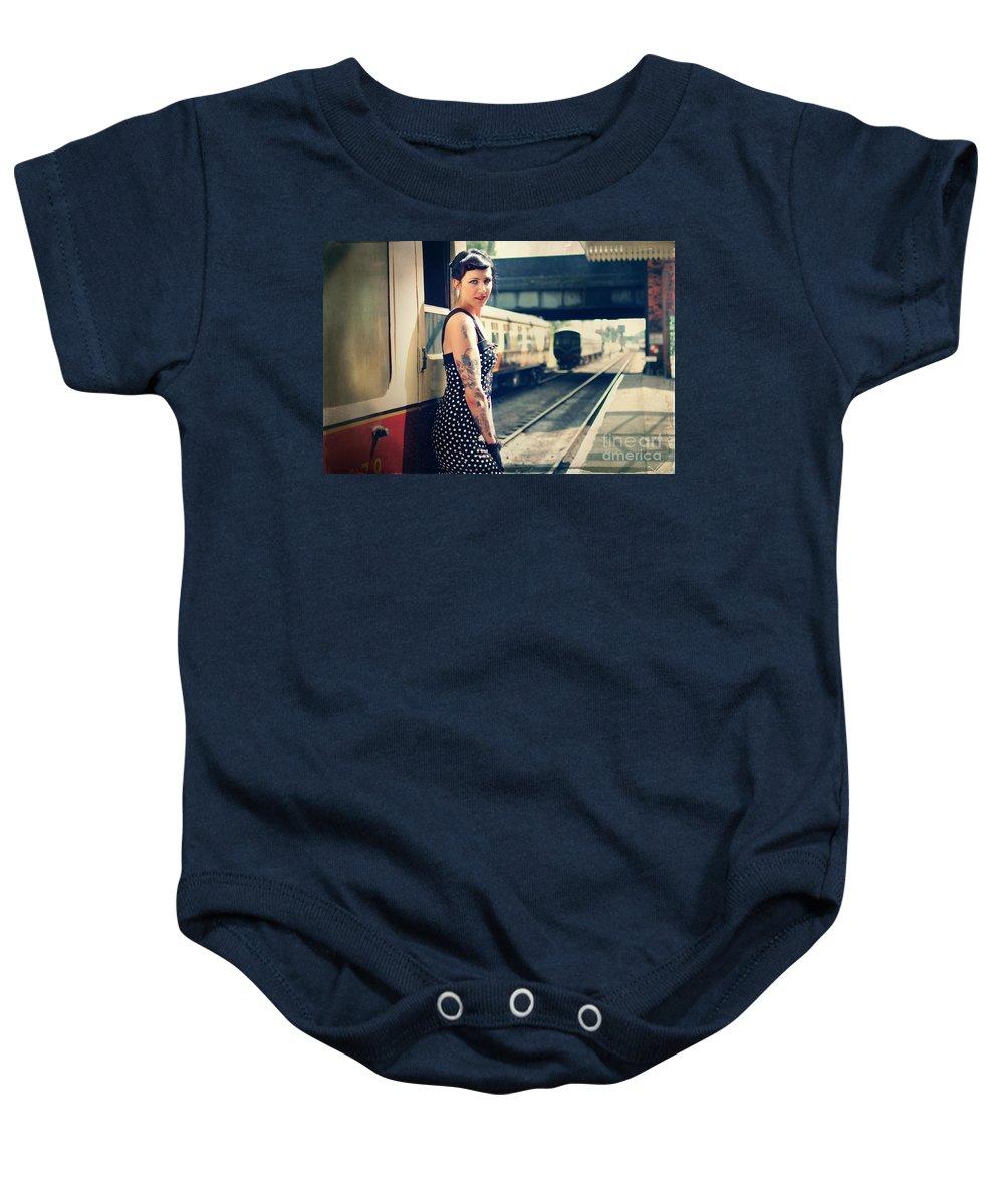 Yhun Suarez Baby Onesie featuring the photograph Sam5 by Yhun Suarez