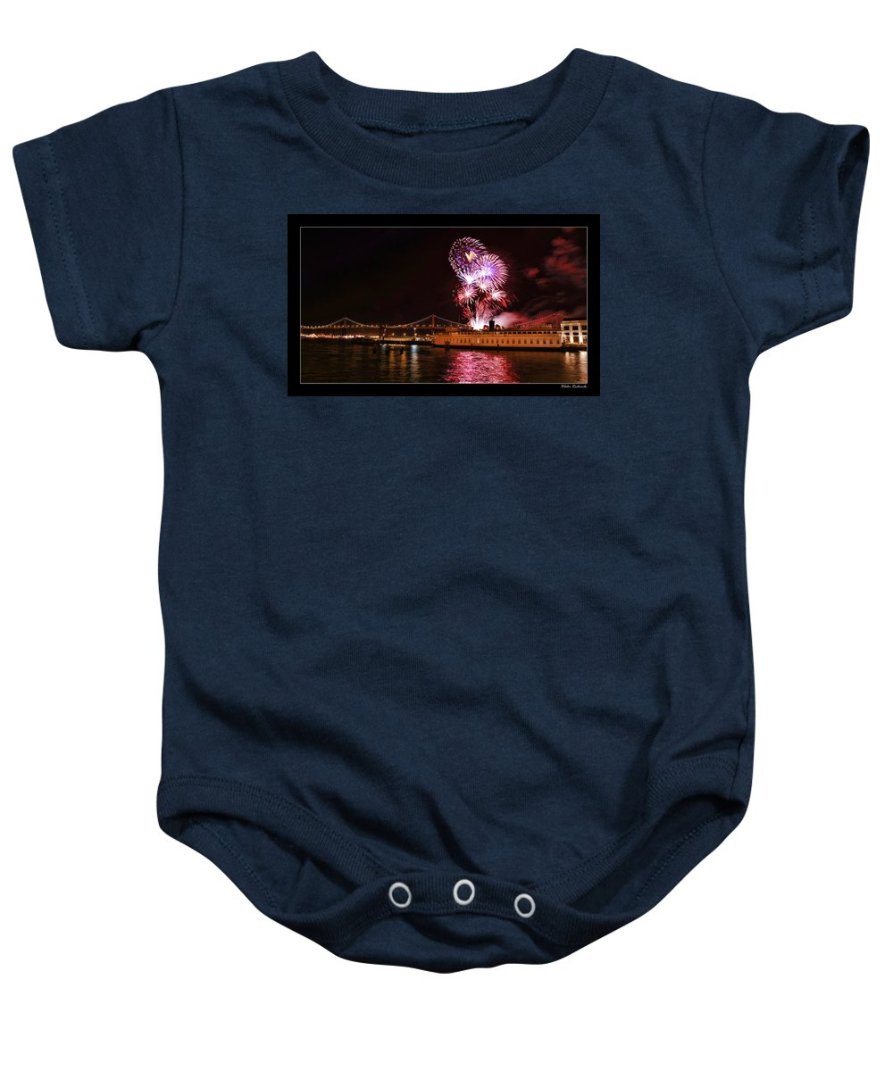 Art Photography Baby Onesie featuring the photograph San Francisco New Years Eve by Blake Richards