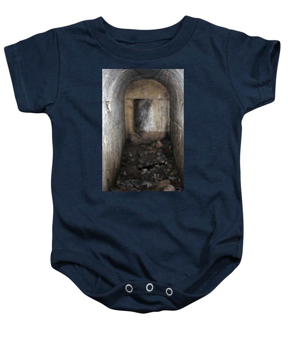 Zachariah Baby Onesie featuring the photograph Tomb Of Zachariah Father Of John The Baptist by Munir Alawi