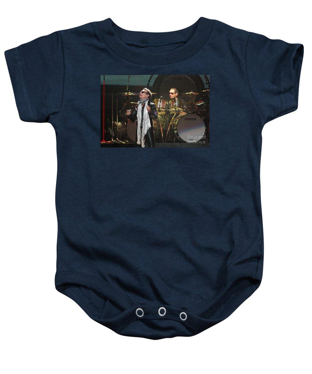 Van Halen Baby Onesie featuring the photograph Van Halen-7072 by Gary Gingrich Galleries