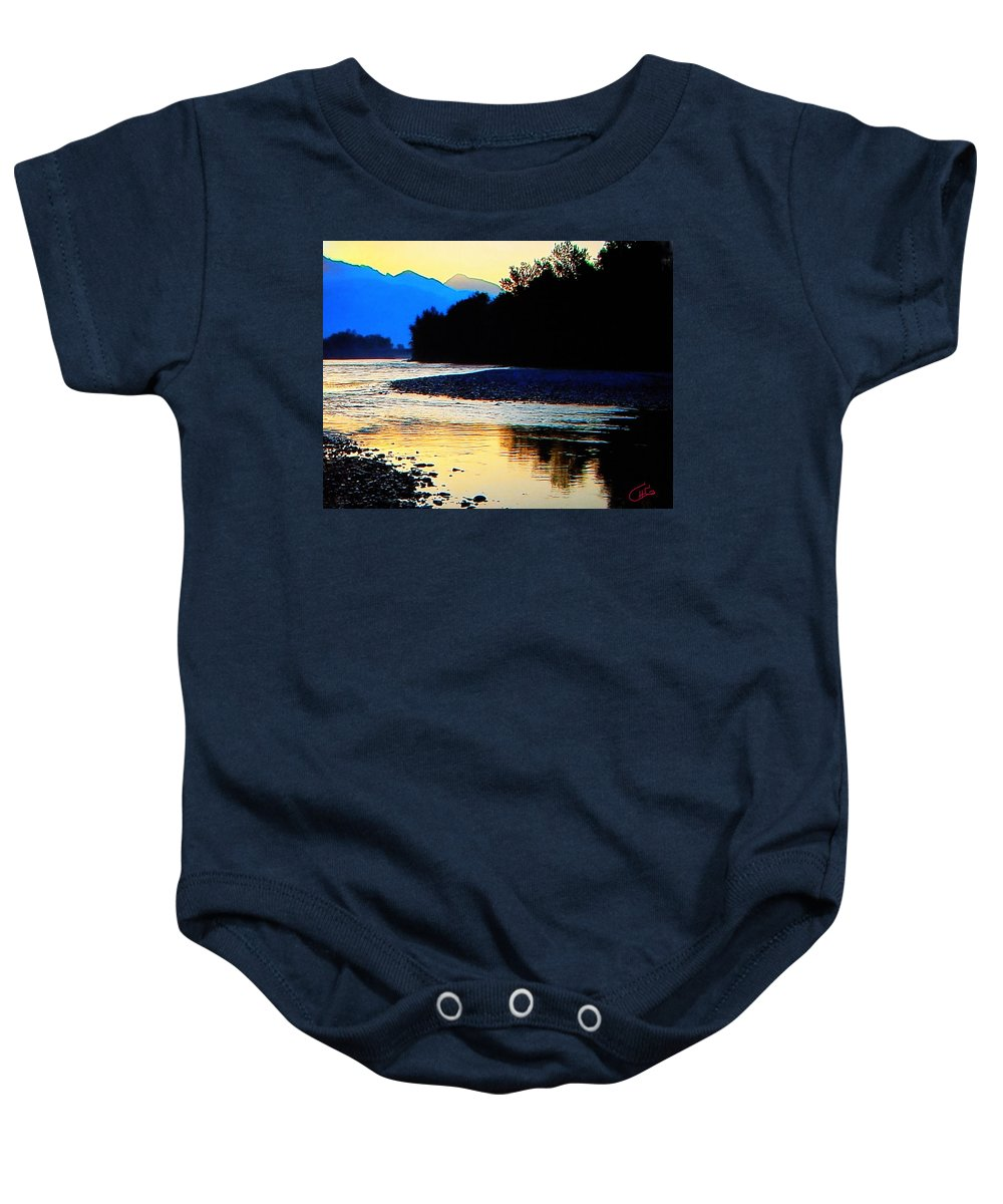 Colette Baby Onesie featuring the photograph Wild Mountain Nature by Colette V Hera Guggenheim