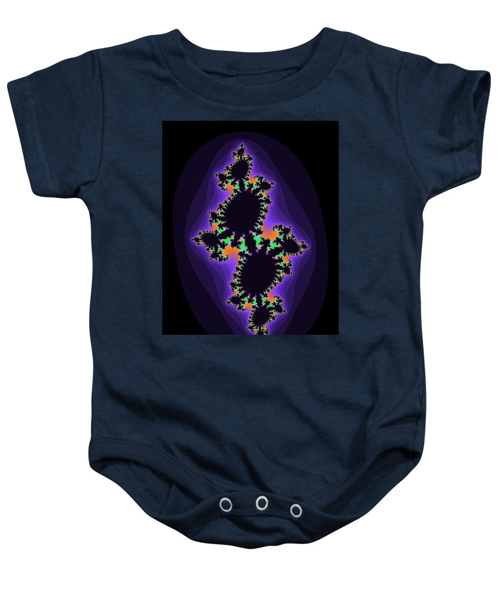 Fractals Baby Onesie featuring the photograph Fractal 2 by Melissa Nobert