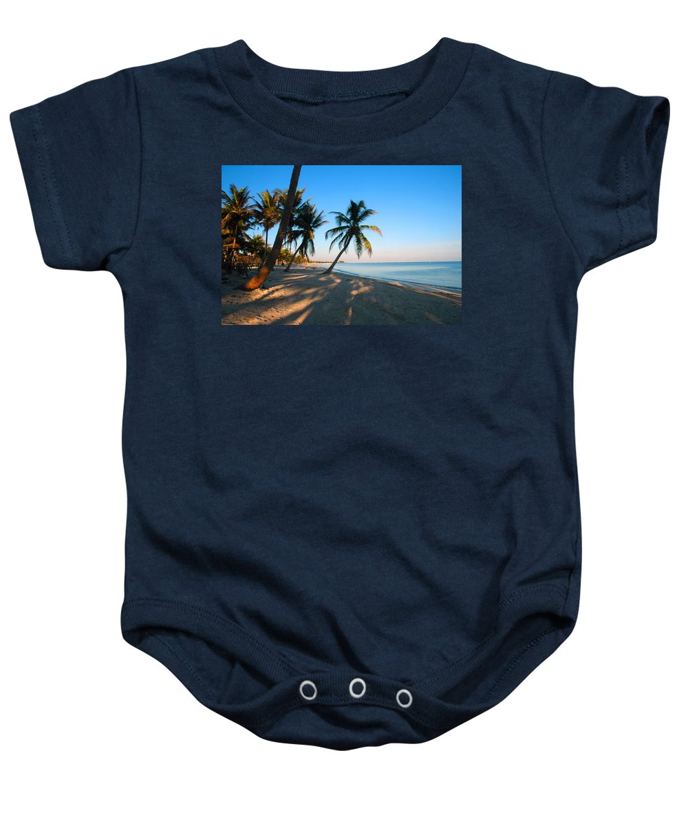 Photography Baby Onesie featuring the photograph Last Sunbeams by Susanne Van Hulst