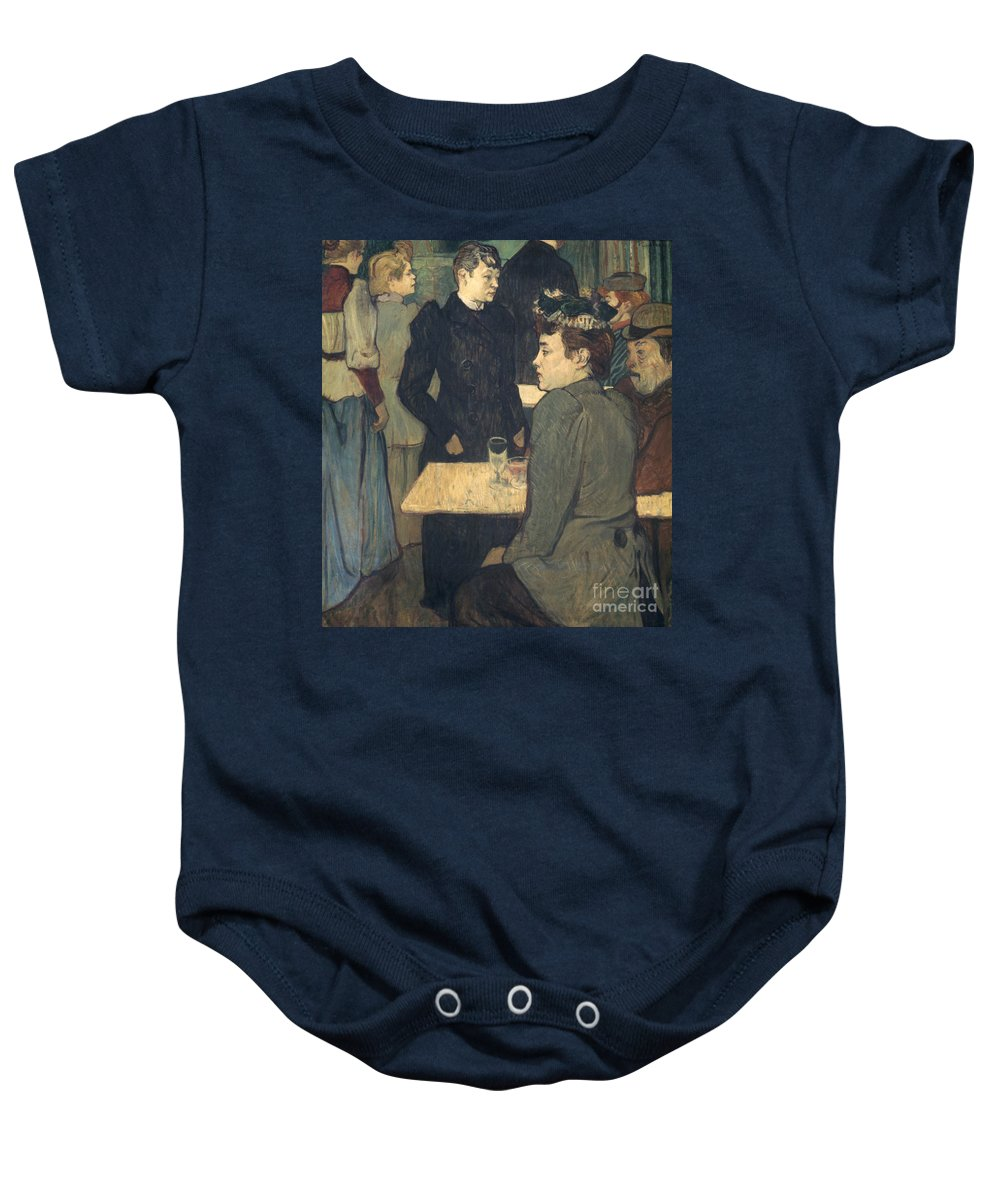 1892 Baby Onesie featuring the photograph Toulouse-lautrec, 1892 by Granger
