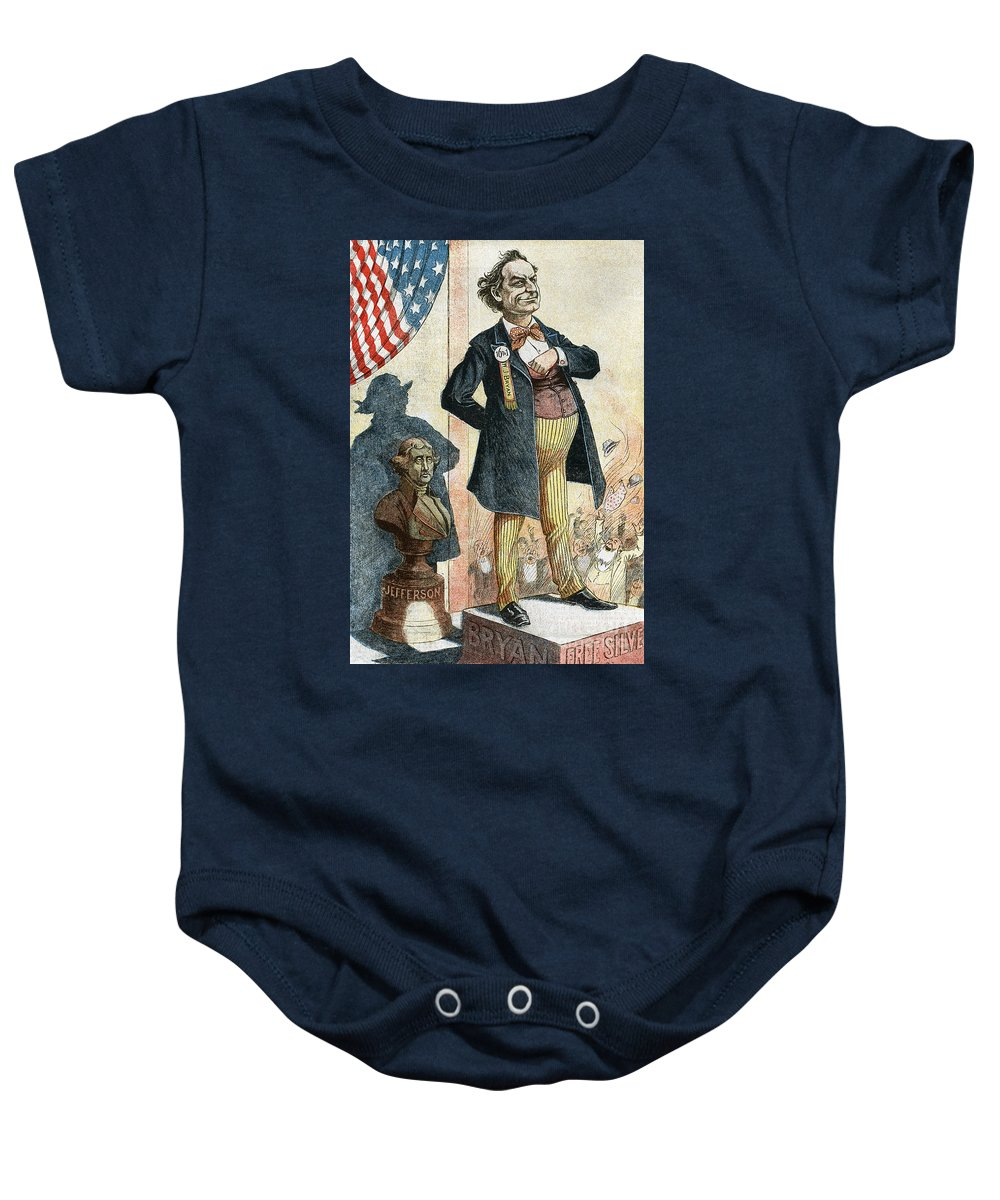 1899 Baby Onesie featuring the photograph William Jennings Bryan by Granger