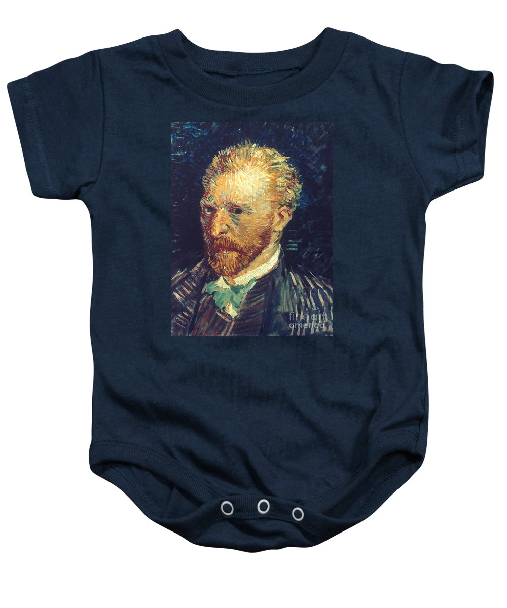 19th Century Baby Onesie featuring the photograph Vincent Van Gogh (1853-1890) by Granger