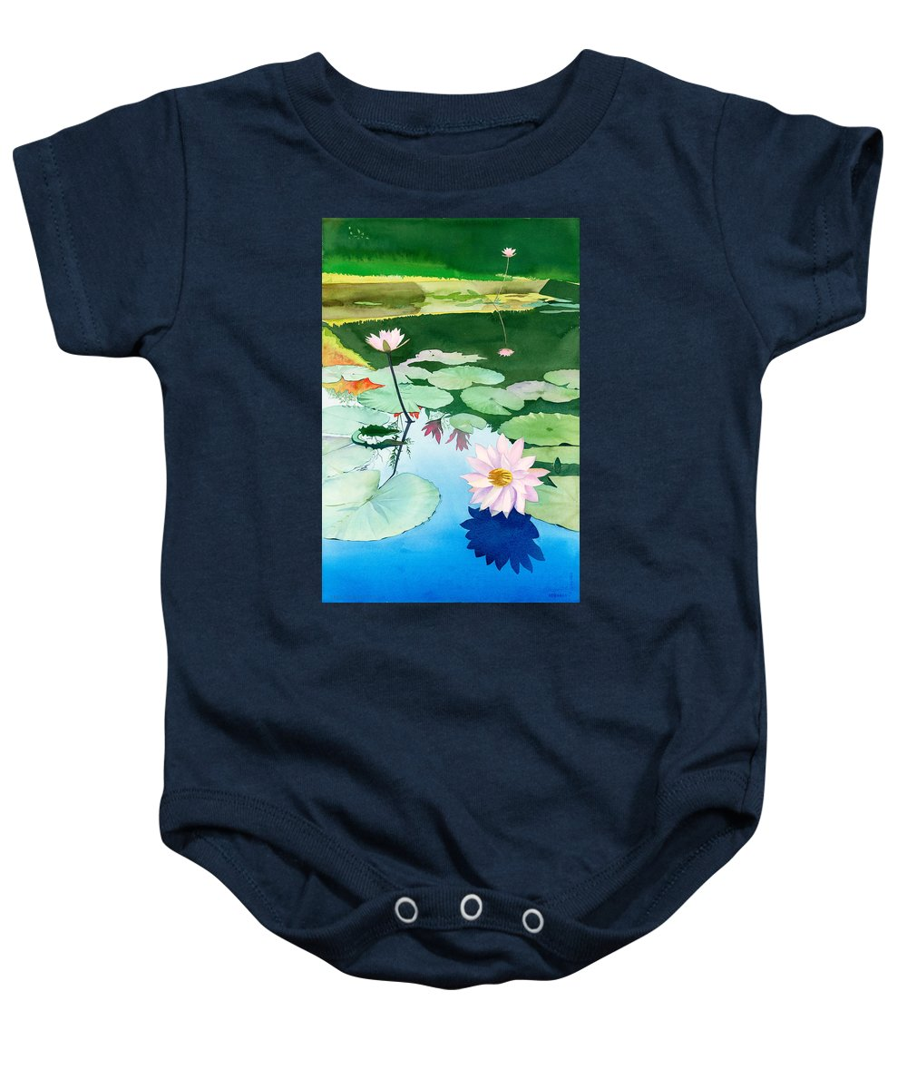 Baby Onesie featuring the photograph Test by Test